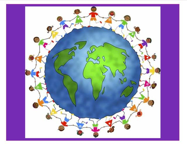 I promote this... I am a citizen of the world.